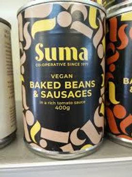 Suma Vegan Baked Beans & Sausages