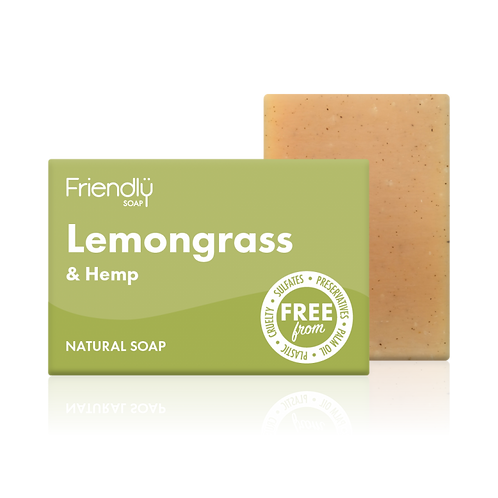 FOODBANK Friendly Soap Lemongrass & Hemp 95g