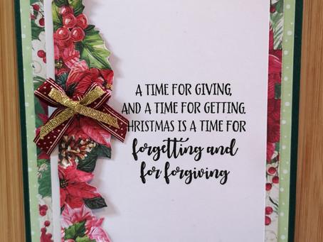 Christmas Card Challenge Week 2