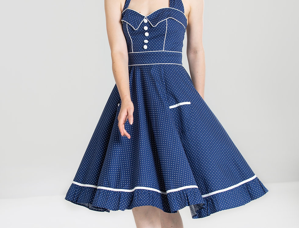 Vanity dress Navy Blue