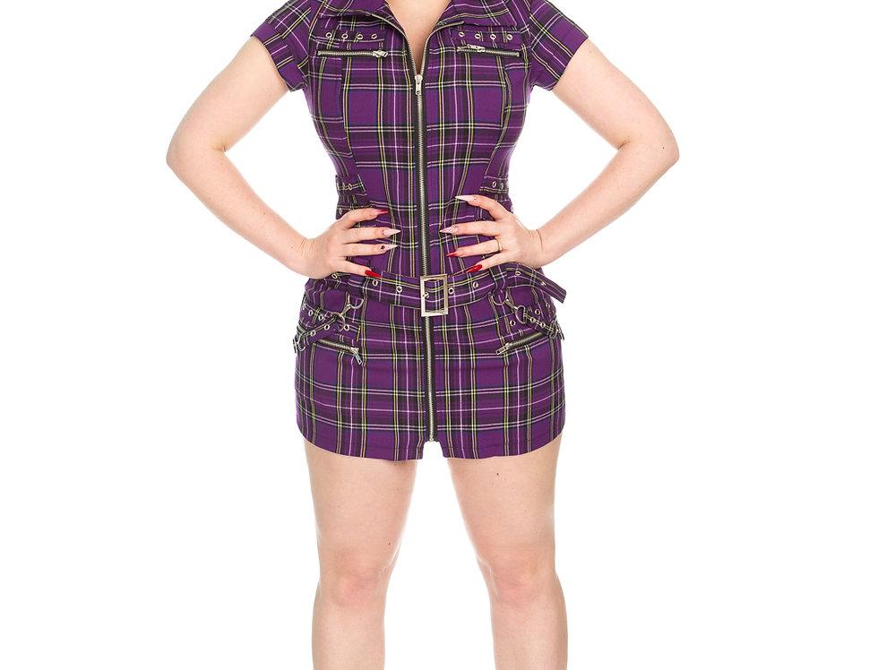 Katy - Purple Tartan
