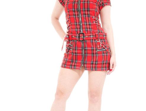Katy - Red Tartan