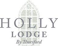 Holly Lodge Logo By Thursford PRINT whit