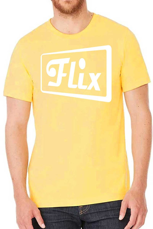 Drive-In Flix Unisex Triblend T-Shirt - Yellow Gold