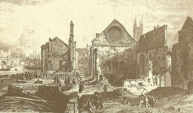 The remains of Winchester Palace