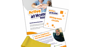 "Free ""Exercise at Home Packs"" for Vulnerable Adults"