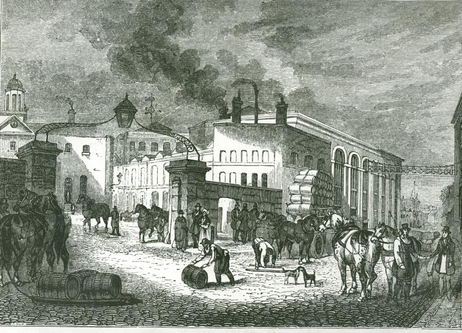 The Barclay Perkins Brewery, 1841