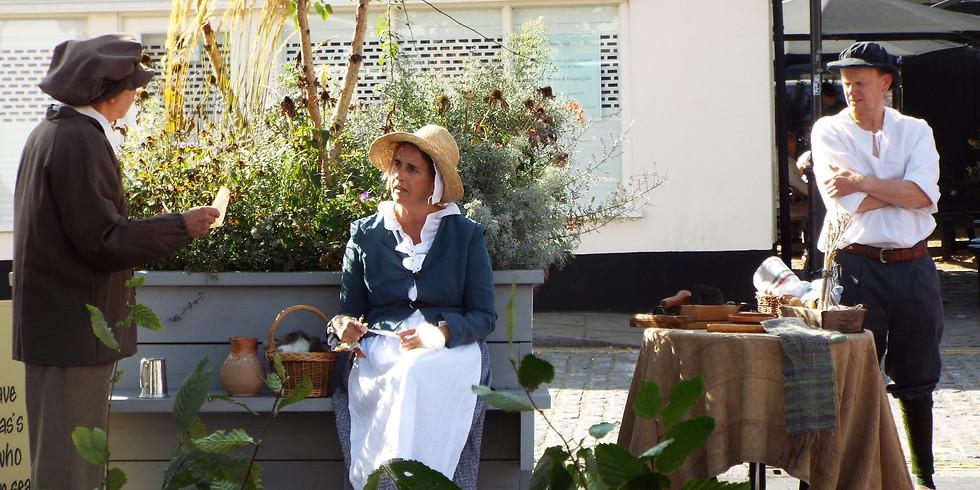 Mayflower: Living History - Life on 1600s