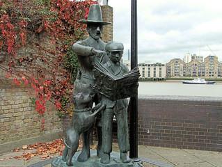 The Pilgrims Statue