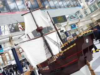 The Mayflower visits London