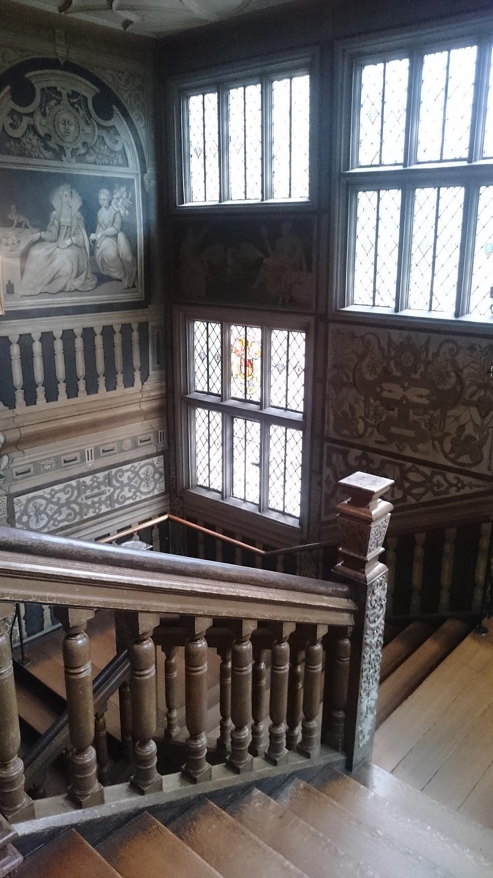 Knole Housen portaikko.