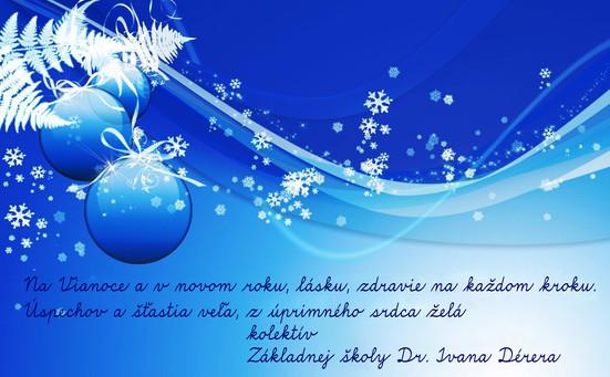 Na Vianoce a v novom roku...