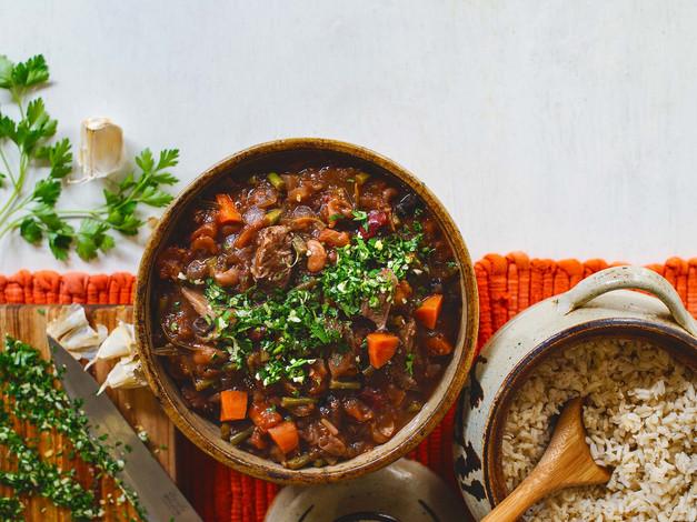 Ostrich Stew