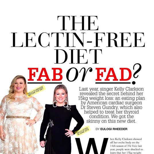 The Lectin free diet - Fab or Fad?