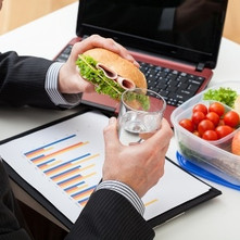 Good nutrition on the job will give you the edge