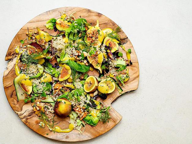 Quinoa & Fig salad