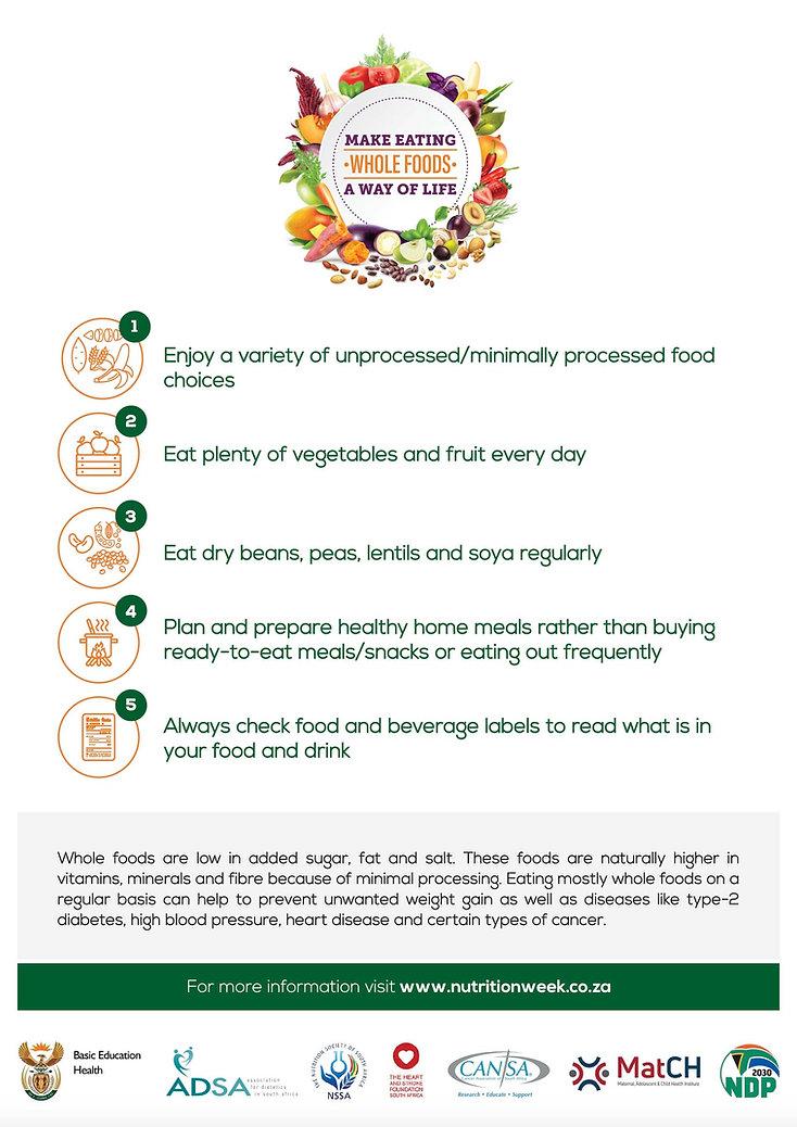 NNW 2019 Make eating whole foods a way o