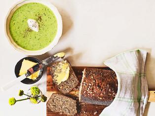 Creamy Broccoli & Barley Soup