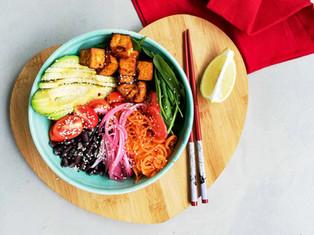 Spicy Tofu Bowl