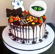 Custom Halloween Cake