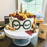 Custom Harry Potter Cake