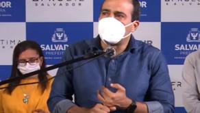 Bruno Reis confirma Carnaval em Salvador se população acima de 12 anos estiver vacinada