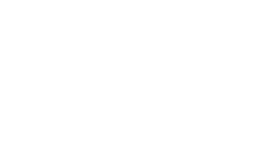 Cornerstone whitelogo