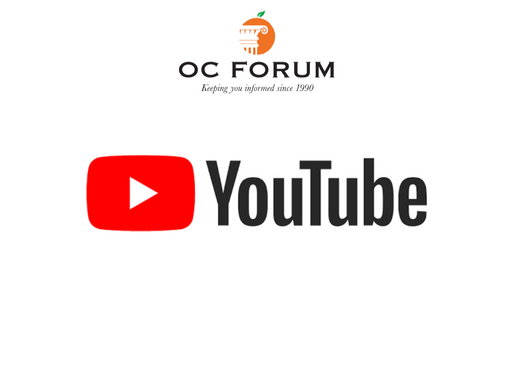 The OC Forum is now on YouTube