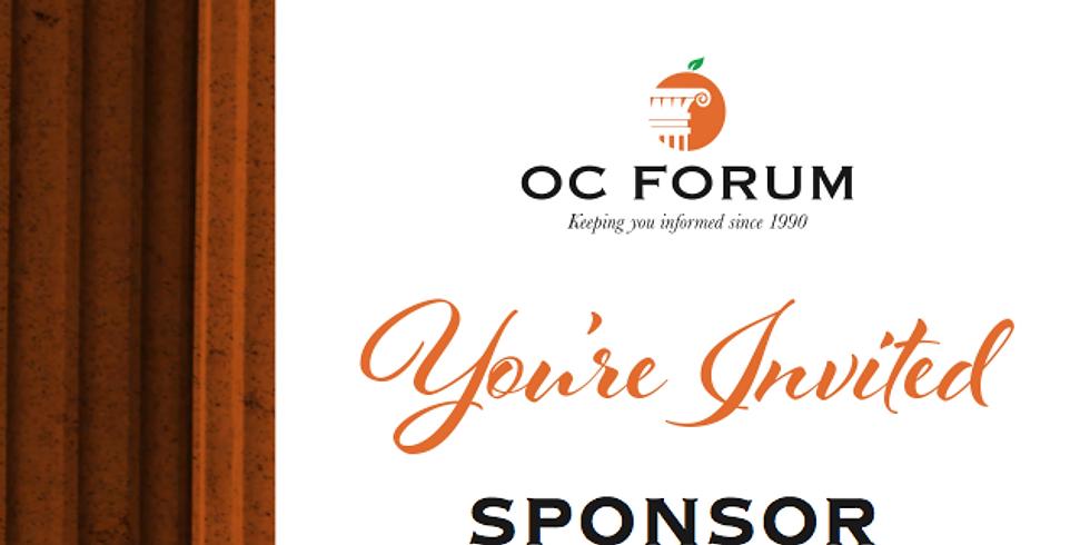 Sponsor Recognition Event