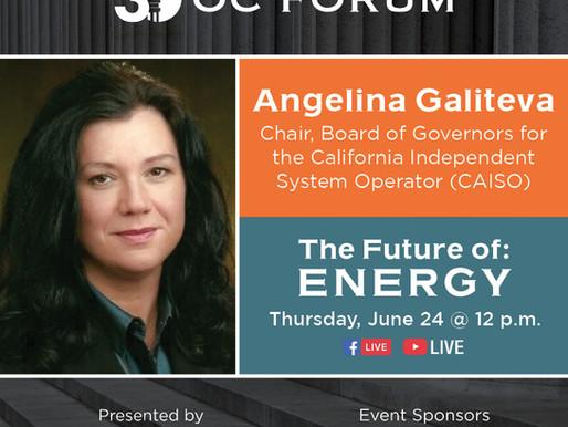 The Future of: Energy - Angelina Galiteva Guest Panelist