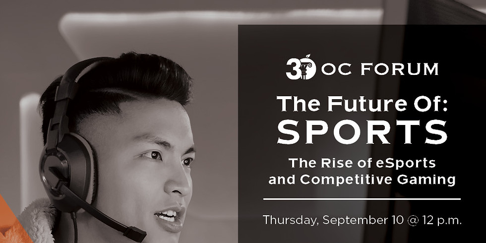 The Future of: Sports - The Rise of ESports and Competitive Gaming