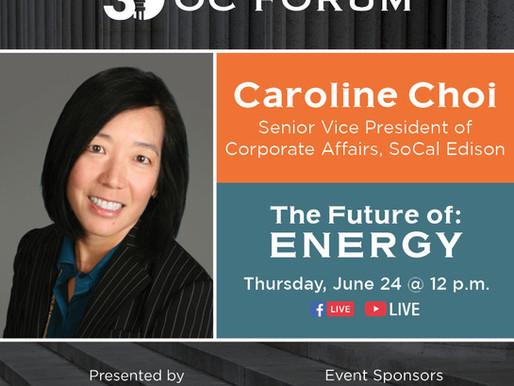 The Future of: Energy - Caroline Choi Guest Panelist