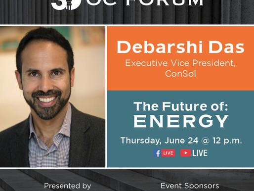The Future of: Energy - Debarshi Das Guest Panelist