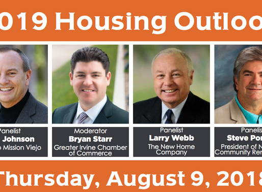 Event Announcement: 2019 Housing Outlook
