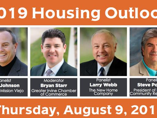 Event Announcement: 2019 Housing Outlook