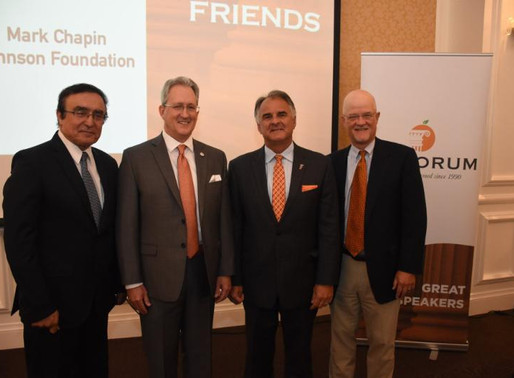 Event Recap: CSUF President Fram Virjee
