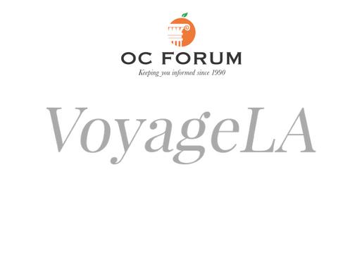 Voyage LA interviews Owen Holmes, OC Forum President