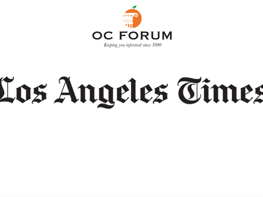 LA Times covers Gubernatorial with Newsom