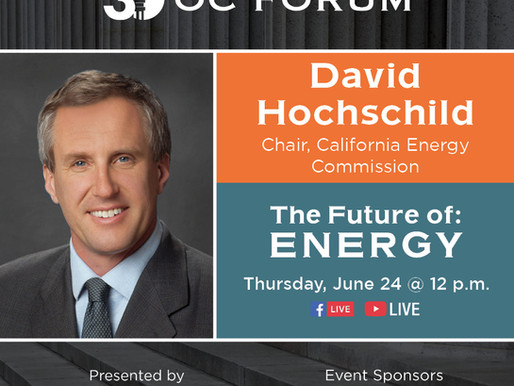 The Future of: Energy - David Hochschild Guest Panelist