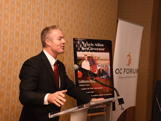 Event Recap: Gubernatorial with Travis Allen