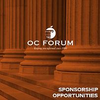OC Forum Sponsor Booklet