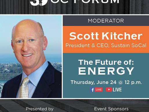 The Future of: Energy - Scott Kitcher MODERATOR