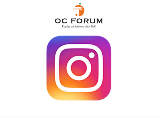 The OC Forum is now on Instagram