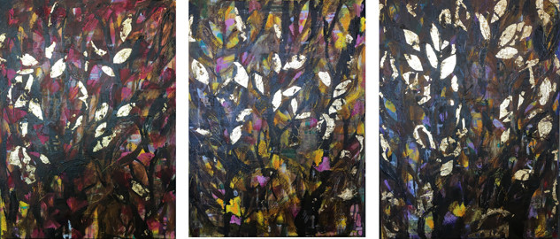 Rainforest triptych