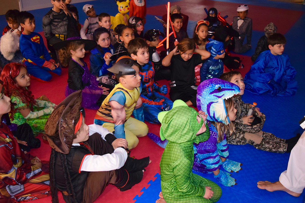 J.Y. Moon Taekwondo Halloween Party