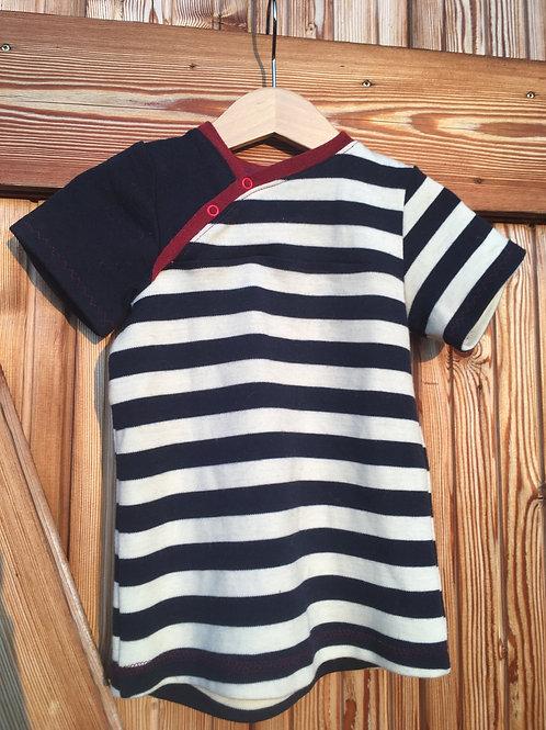 Kurzarm Shirt aus Bio Wolljersey kbT, mulesingfrei