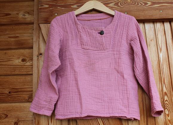 Musselin Hemd aus Biobaumwolle