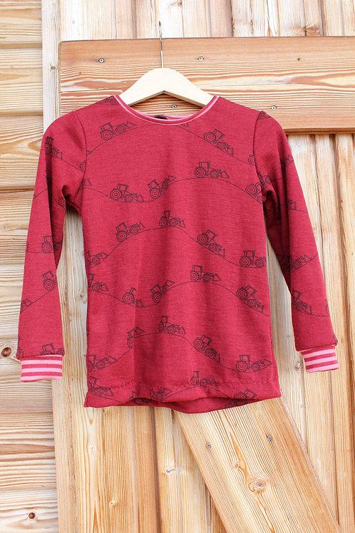 Wolle Seide Shirt kbT, mulesingfrei