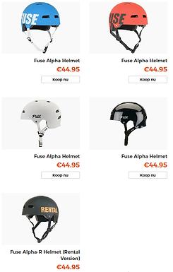 Fuse Alpha helmets op komst