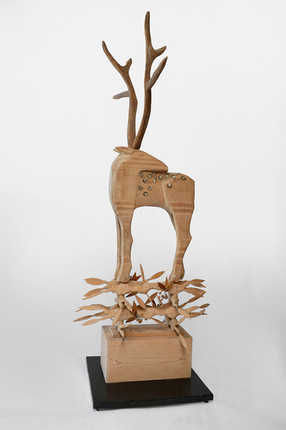 Deer Standing on Branches